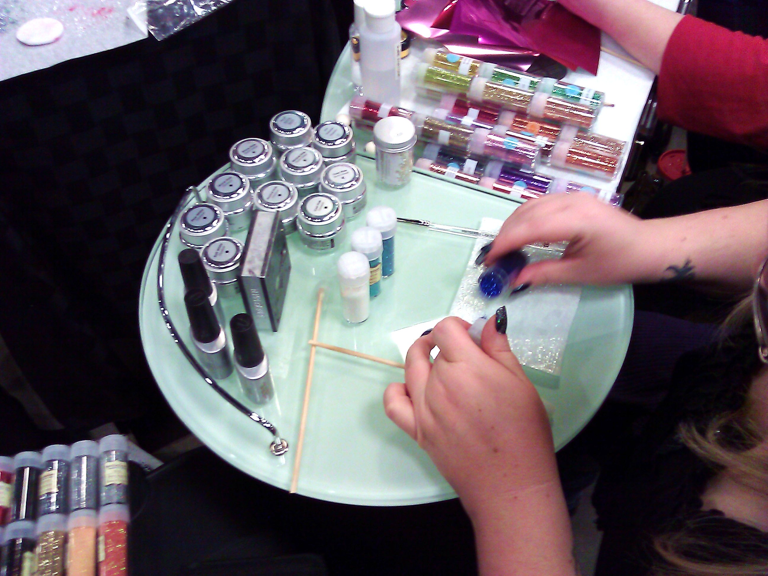 7b69f0d96783 Industry Source-CND Nail Art event (4)